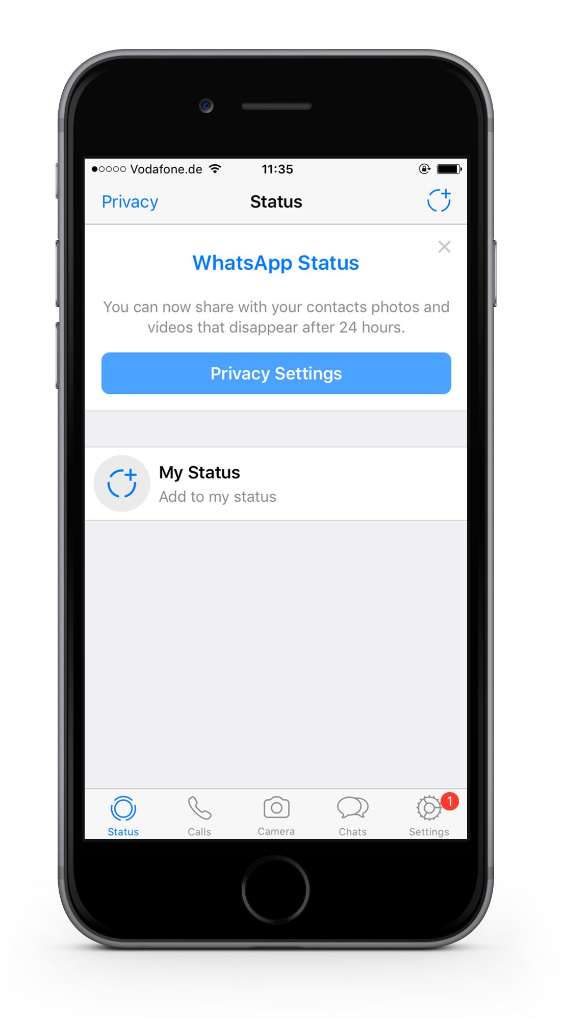 whats-app-status-screen